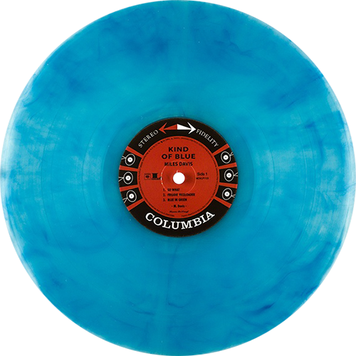 Miles Davis Kind Of Blue Colored Vinyl