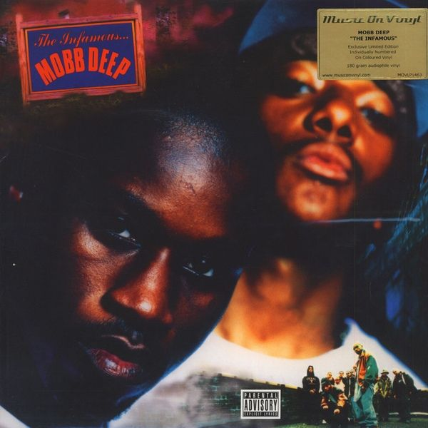 Mobb Deep The Infamous Colored Vinyl