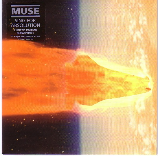 Muse Sing For Absolution Colored Vinyl