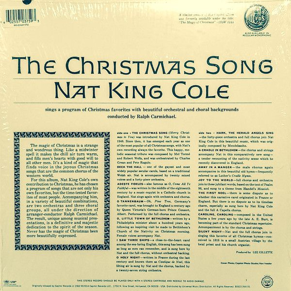 Nat King Cole -The Christmas Song