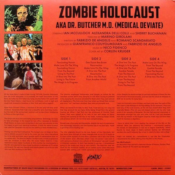 Nico Fidenco - Zombi Holocaust