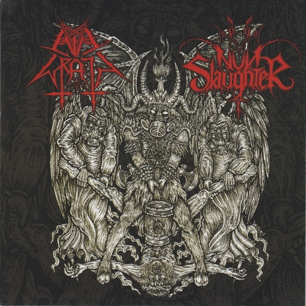 Nunslaughter Amp Evil Wrath The Hammer Of Satan Colored Vinyl