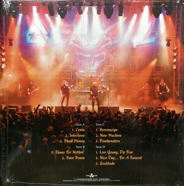 Overkill - Live In Overhausen Horrorscope Volume One