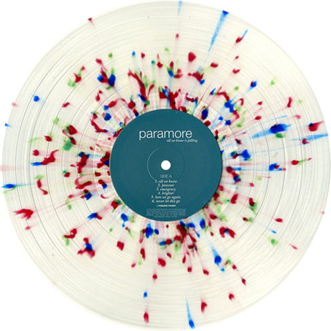 Paramore All We Know Is Falling Colored Vinyl