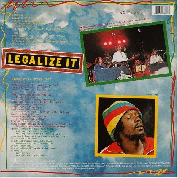 Peter Tosh -Legalize It