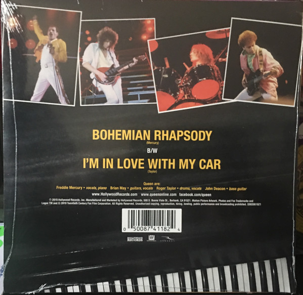 Queen - Bohemian Rhapsody / I'm In Love With My Car