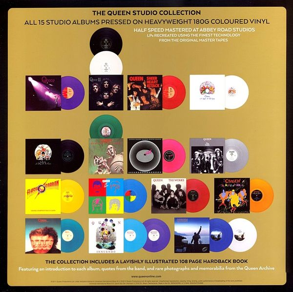 Queen - Studio Collection