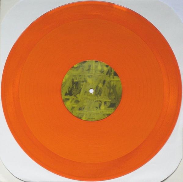 R E M Orange Crush Colored Vinyl
