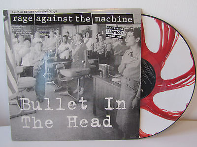 Rage Against The Machine Bullet In The Head Colored Vinyl