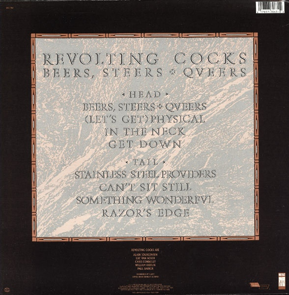 Revolting Cocks - Beers, Steers & Queers