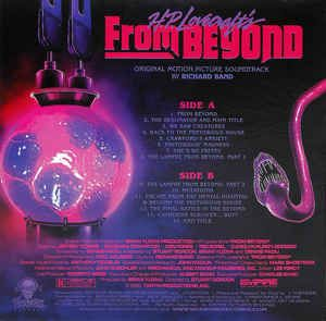 Richard Band -H.P. Lovecraft's From Beyond (Original Motion Picture Soundtrack)