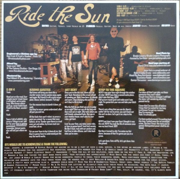 Ride The Sun & The Trikes - The Second Coming Of Heavy (Chapter 8)