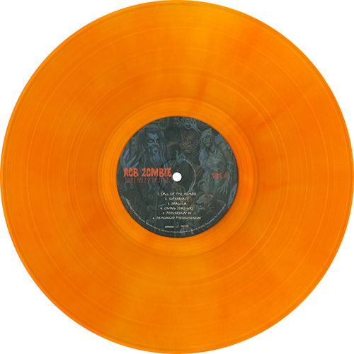 Rob Zombie Hellbilly Deluxe Colored Vinyl