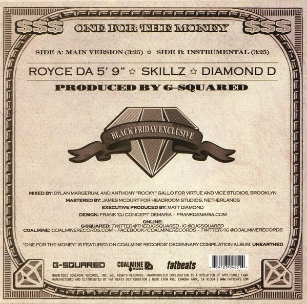 Royce Da 5'9 - One For The Money