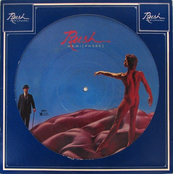Rush Hemispheres Colored Vinyl