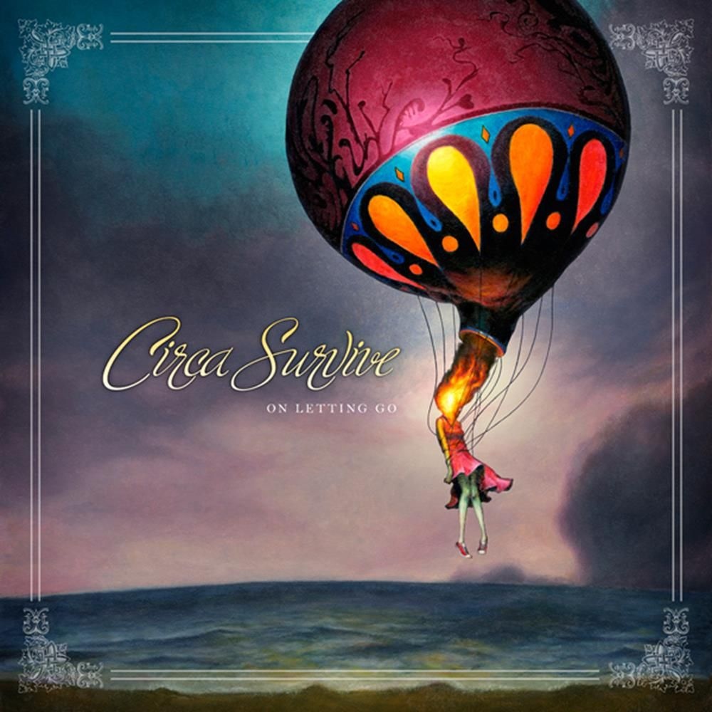 Image result for circa survive on letting go vinyl art