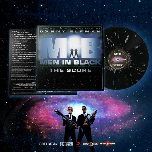 Danny Elfman - Men In Black: The Score (20th Anniversary Vinyl Reissue)
