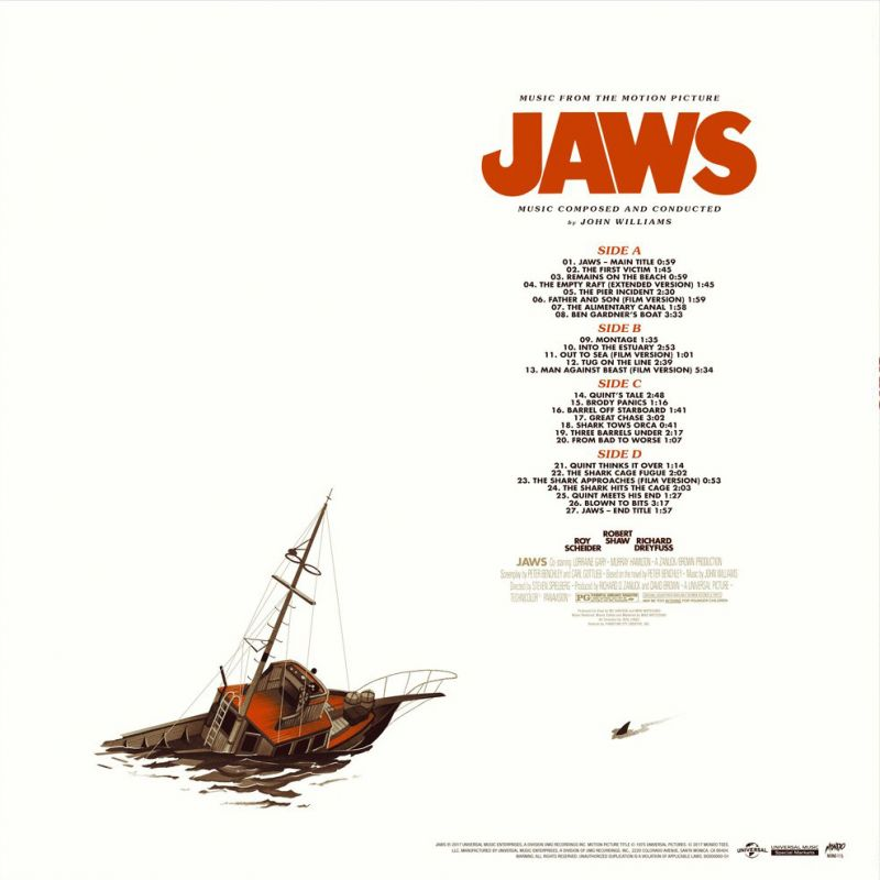 John Williams - Jaws (Music from the Motion Picture)