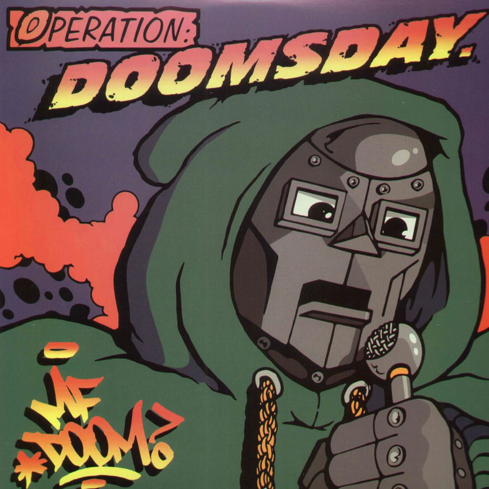 Image result for mf doom operation doomsday vinyl art
