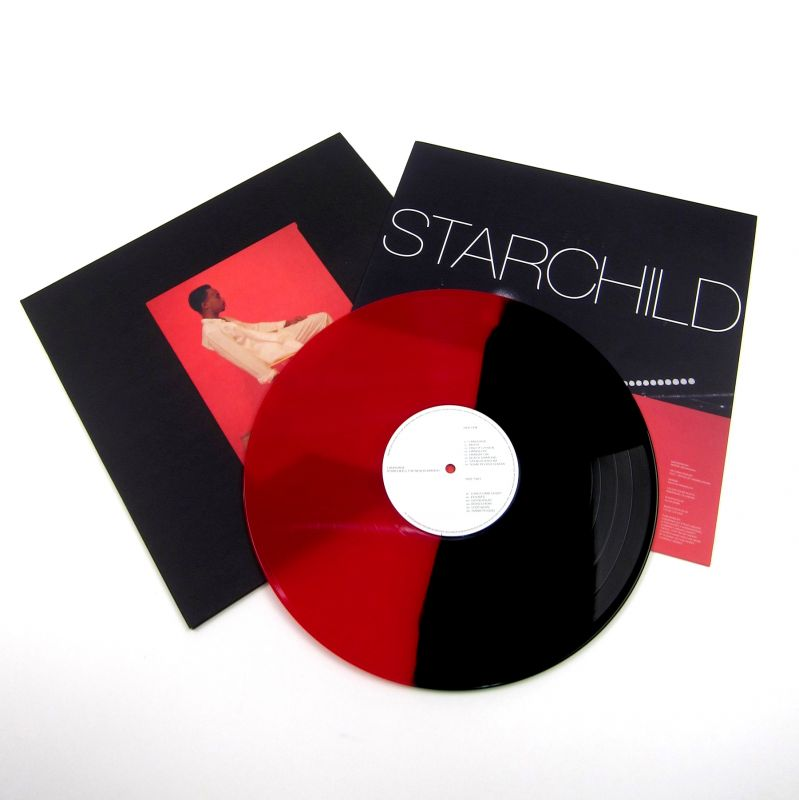starchild the new romantic language colored vinyl. Black Bedroom Furniture Sets. Home Design Ideas
