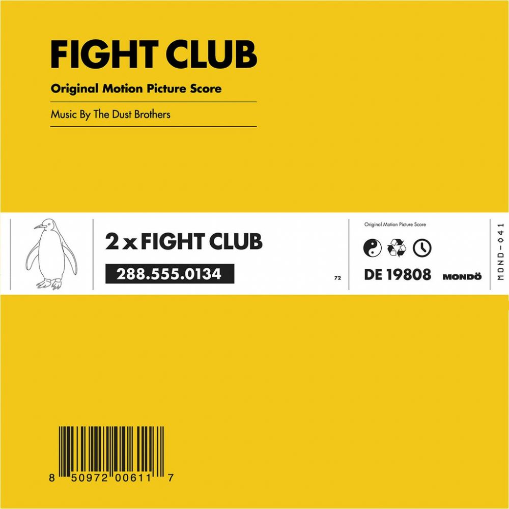 The Dust Brothers Fight Club Ost Colored Vinyl