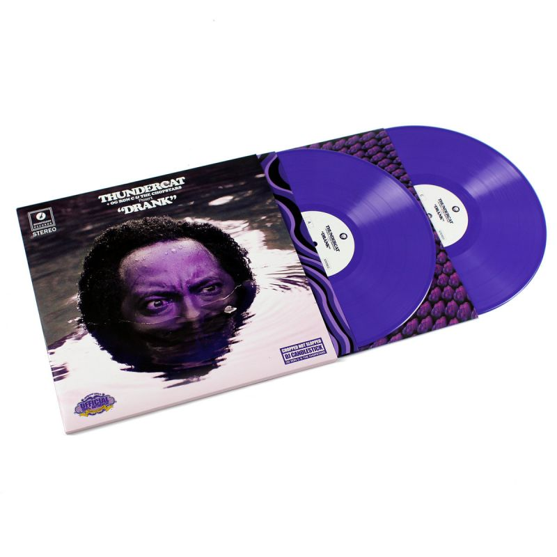 thundercat drunk chopped screwed colored vinyl. Black Bedroom Furniture Sets. Home Design Ideas
