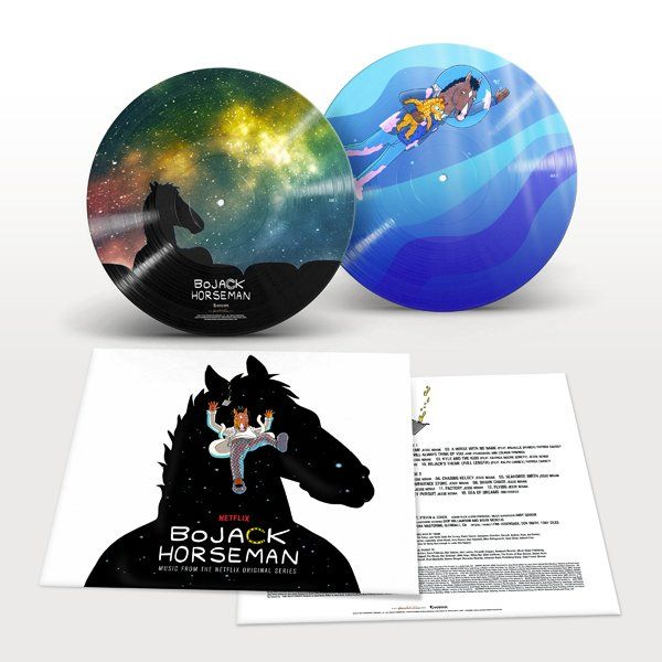 various artists bojack horseman music from the netflix original series colored vinyl. Black Bedroom Furniture Sets. Home Design Ideas