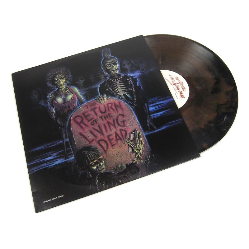 various artists the return of the living dead ost colored vinyl. Black Bedroom Furniture Sets. Home Design Ideas