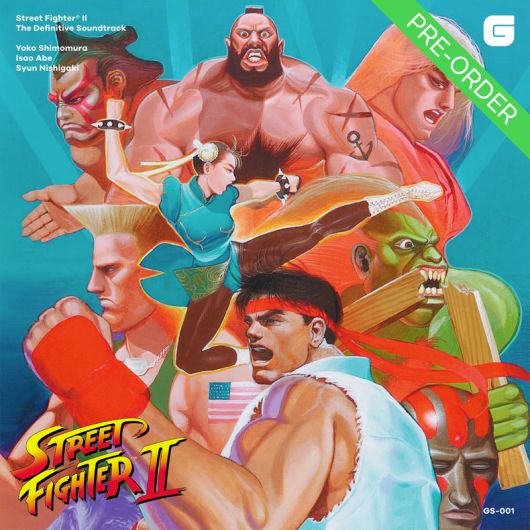 Yoko Shimomura - Street Fighter II Soundtrack (Re-press)