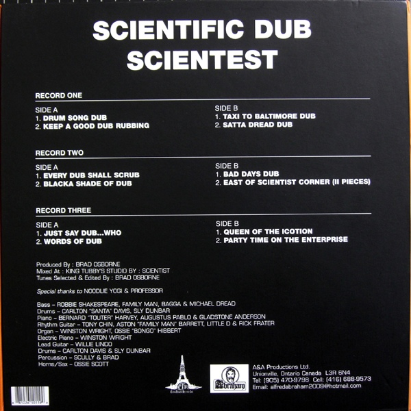 Scientist - Scientific Dub