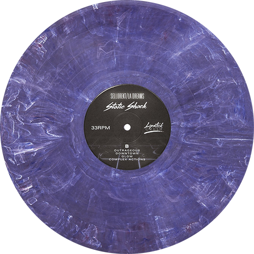 Sellorekt La Dreams Static Shock Colored Vinyl