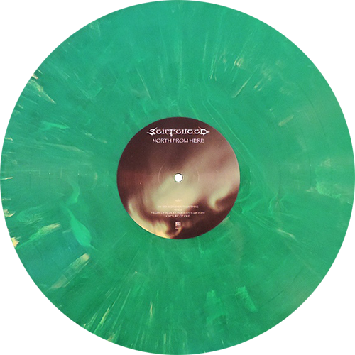 Sentenced North From Here Colored Vinyl