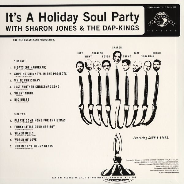 Sharon Jones & The Dap-Kings -It's A Holiday Soul Party