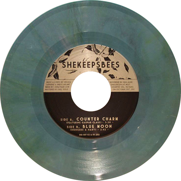 She Keeps Bees -Counter Charm / Blue Moon