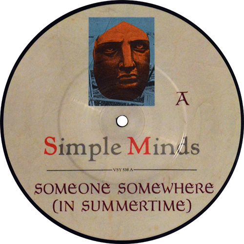 Simple Minds -Someone Somewhere (In Summertime)