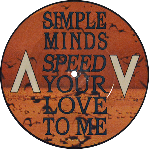 Simple Minds Speed Your Love To Me Extended Mix