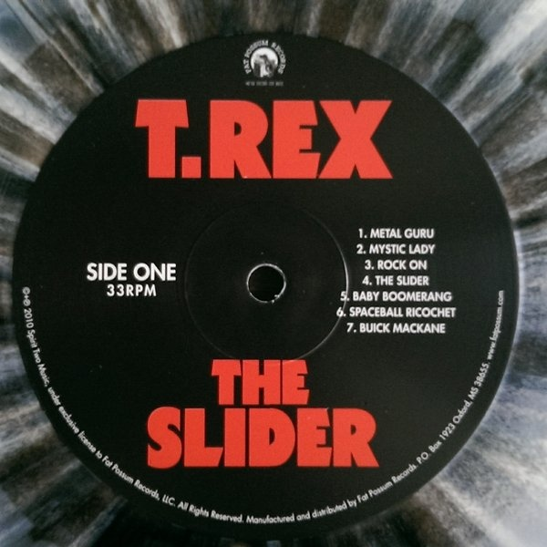 T Rex The Slider Colored Vinyl