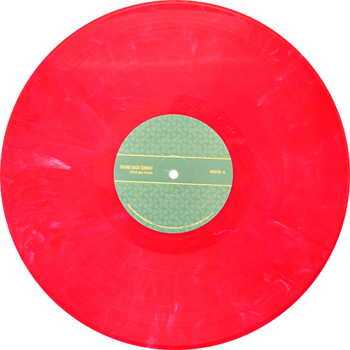 Taking Back Sunday Tell All Your Friends Colored Vinyl