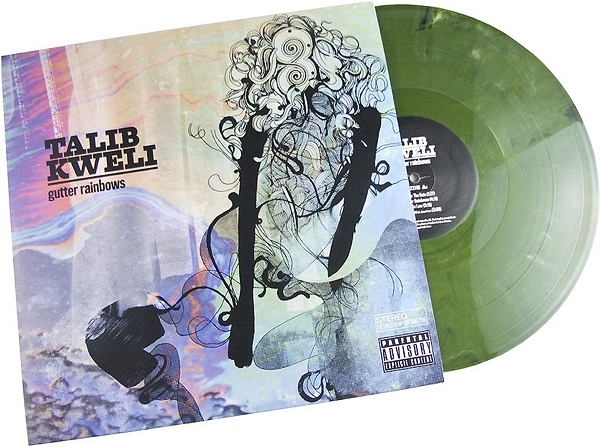 Talib Kweli Gutter Rainbows Colored Vinyl