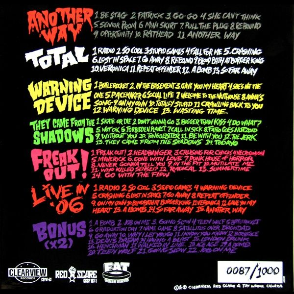 Teenage Bottlerocket Teenage Bottlerocket Colored Vinyl