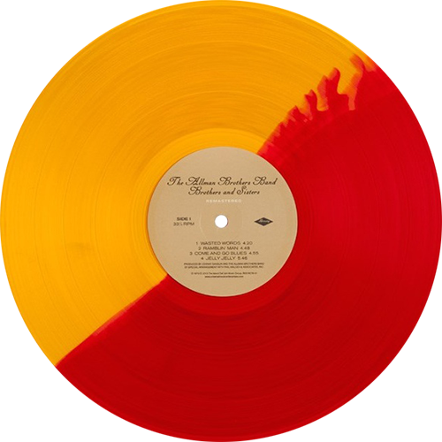 The Allman Brothers Band Brothers And Sisters Colored Vinyl
