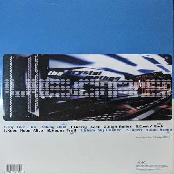 The Crystal Method Vegas Colored Vinyl