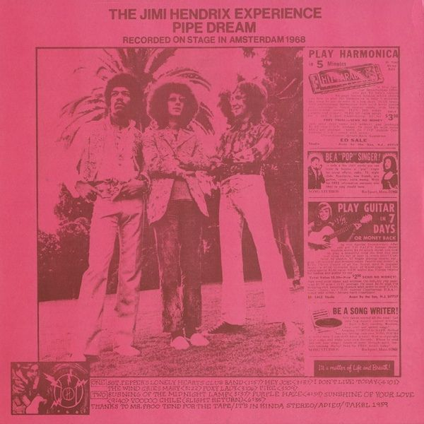 The Jimi Hendrix Experience - Pipe Dream