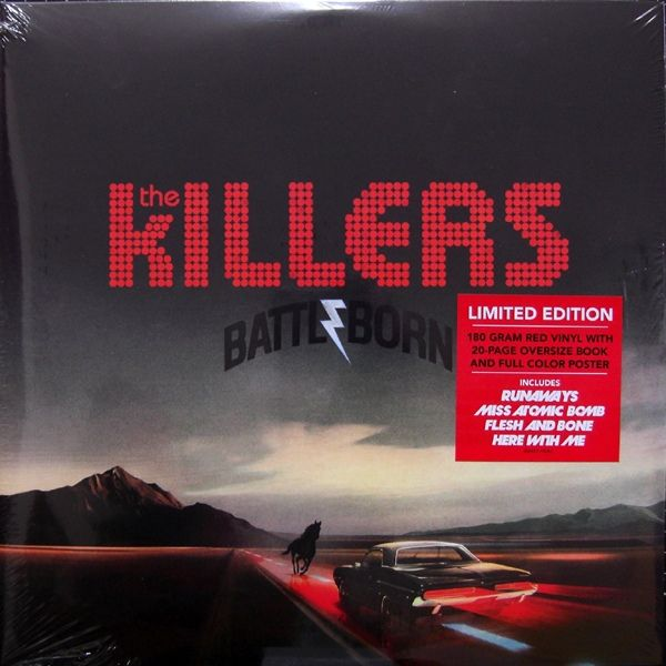 The Killers Battle Born Colored Vinyl