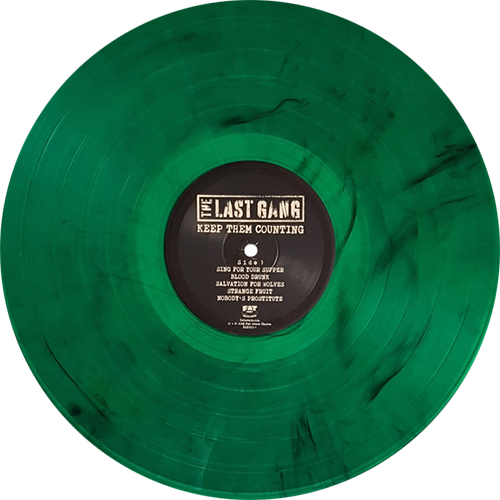The Last Gang Keep Them Counting Colored Vinyl