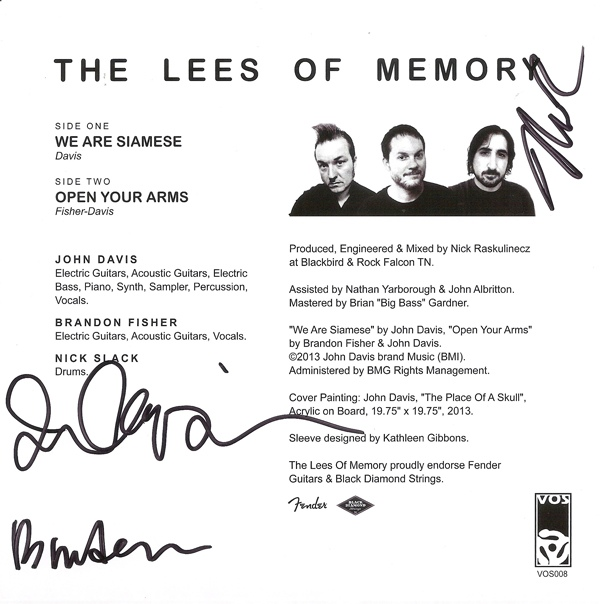 The Lees Of Memory -We Are Siamese