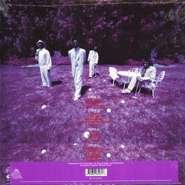 The Pharcyde Labcabincalifornia Colored Vinyl