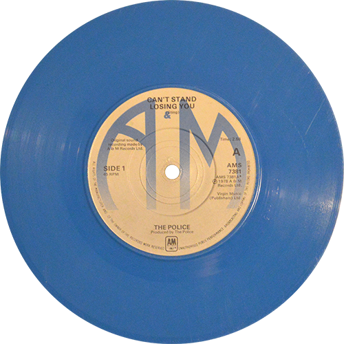 The Police Can T Stand Losing You Colored Vinyl