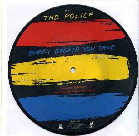 The Police Every Breath You Take Colored Vinyl