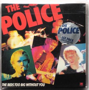 The Police Six Pack Limited Edition Colored Vinyl
